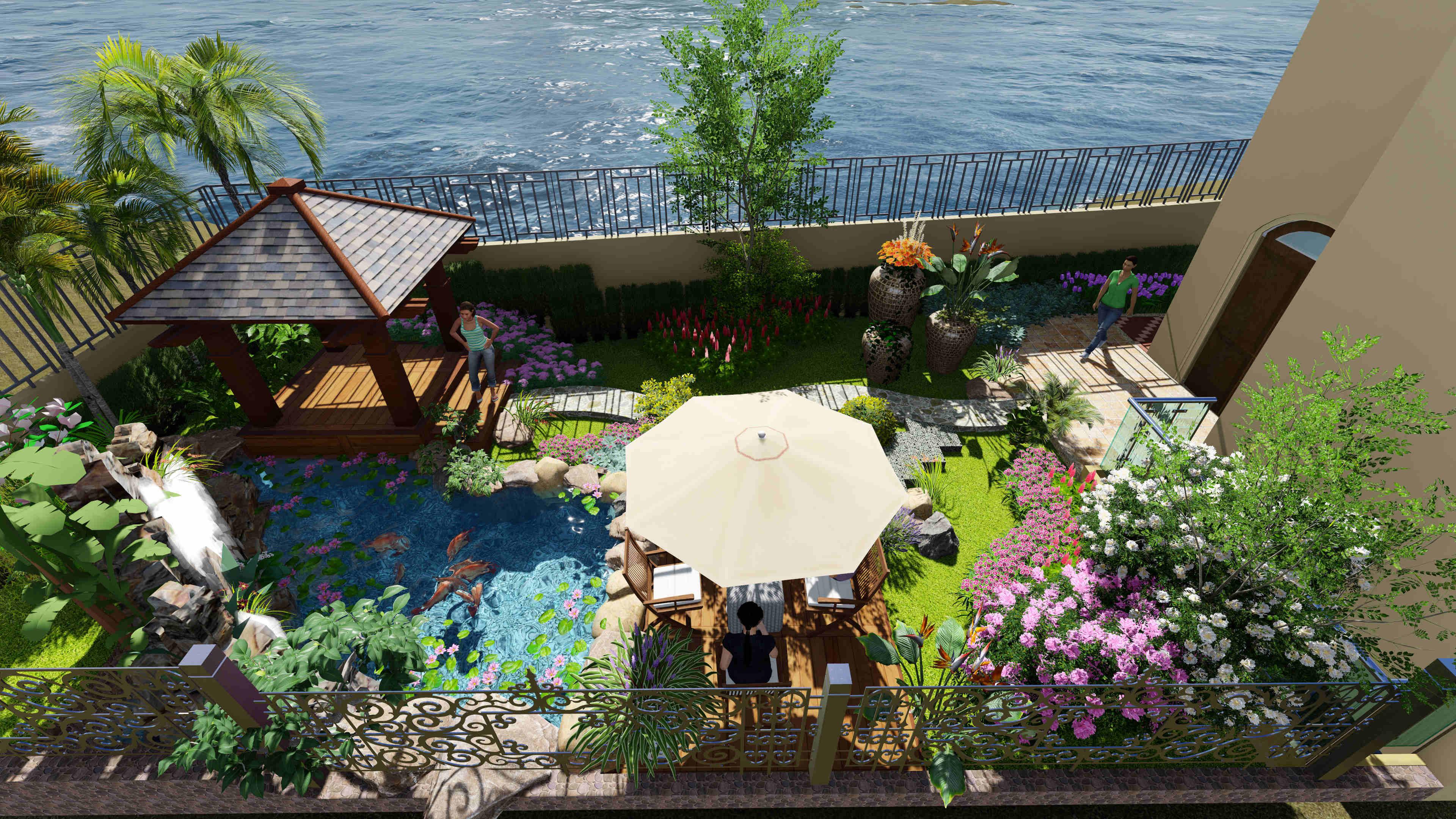 东海定南山私家园林设计